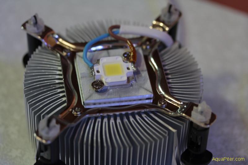 Радиатор светодиода своими руками 72
