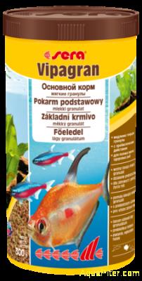 Корм основной Sera Vipagran, 1000мл