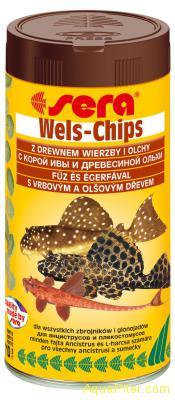 Чипсы для сомиков Sera Wels-Chips, 250мл, 110г