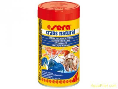 Корм Sera Crabs Natural для креветок, 100мл