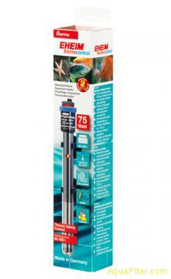 Нагреватель регулируемый EHEIM JAGER, 75Вт, для аквариумов 60-100л