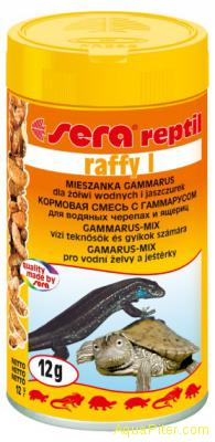 Кормовая смесь Sera raffy I с гаммарусом для рептилий и амфибий