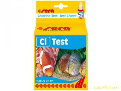 Тест Sera Cl-Test (хлор-тест)