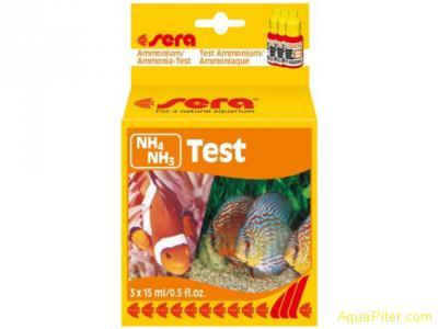 Тест Sera NH4/NH3-Test (Аммоний/аммиак-тест)