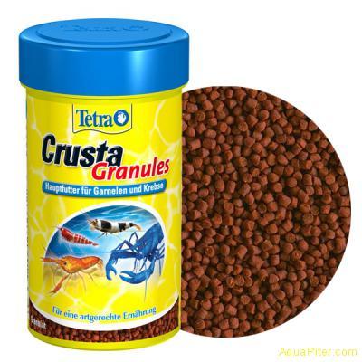 Корм TetraCrusta Granules для креветок и раков, 100мл