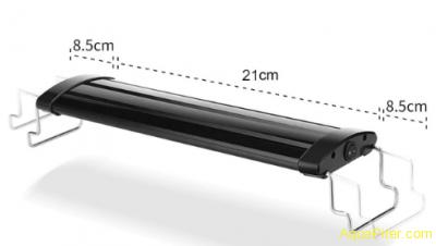 Светильник светодиодный, раздвижной, 9 вт, до 36 см