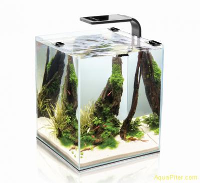 Креветкариум Aquael SHRIMP SET SMART PLANT 20 с LED освещением и оборудованием,