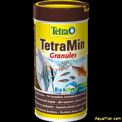 Корм TetraMin Granules для всех видов декоративных рыбок, 250мл