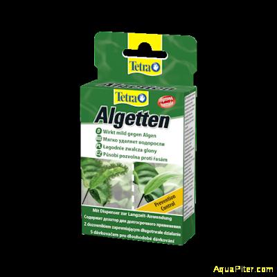 Препарат Tetra Algetten против размножения водорослей, 12табл