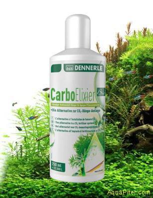 Удобрение Dennerle carbo elixier BIO - натуральное жидкое УДО с калием и микроэл