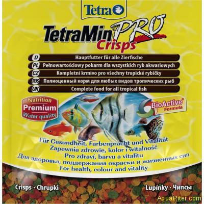 Корм Tetra Min Pro Crisps, 12гр