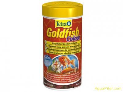 Корм Tetra Goldfish Colour Floken для золотых и холодноводных рыб, 100мл