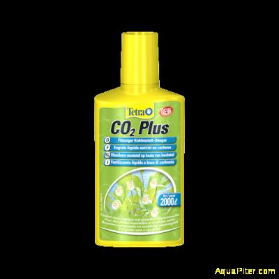 Углекислый газ Tetra Planta CO2 Plus в доступной для растений форме, 250мл