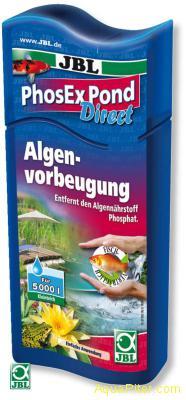 Препарат JBL PhosEx Pond Direct для устранения фосфатов в садовом пруду, 250мл н