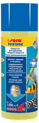 Кондиционер для воды Sera toxivec Токсивек, 250мл