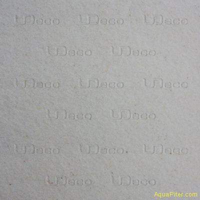 Песок мраморный (белый) UDeco River Marble, фракция 0.1-0.6мм, 2л