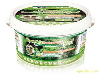 Грунтовая подкормка для аквариумных растений DeponitMix Professional 9in1, 2.4кг