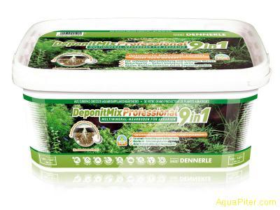 Грунтовая подкормка для аквариумных растений DeponitMix Professional 9in1, 4.8кг