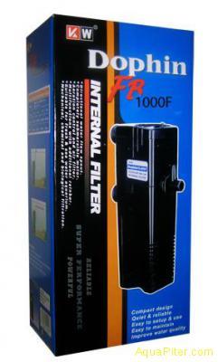 Фильтр внутренний Dophin FВ-1000F с дождиком и углем