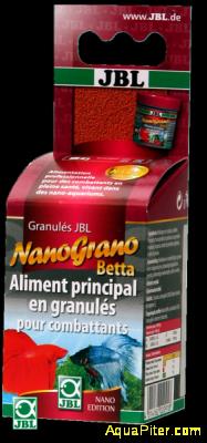 Корм JBL NanoGrano Betta в форме гранул для бойцовых рыбок, 60 мл