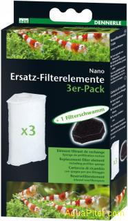 Dennerle Nano Filter Element 3x-Pack