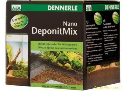 Субстрат специальный питательный Nano Deponit Mix для миниатюрного аквариума