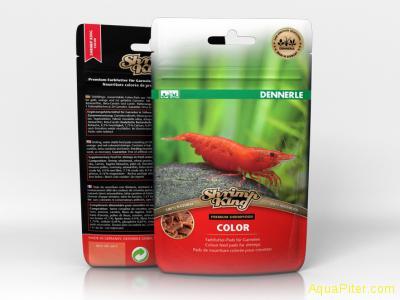Корм Dennerle Shrimp King Color премиум класса в форме пластинок для яркой окрас