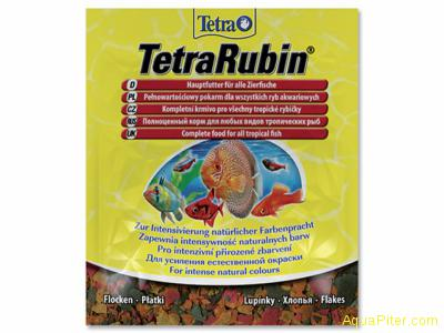 Корм Tetra Rubin Flocken для усиления насыщенности окраса, 12гр