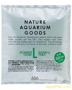 Субстрат питательный ADA Power Sand-L c размером гранул L для аквариумов глубино