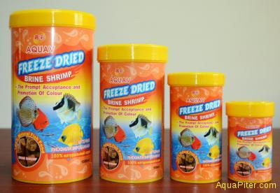 Корм AQUAV Freeze Dried Brine Shrimp артемия лиофилизированный, 500мл