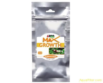 Корм AZOO MAX Growth пластинки для лучшего роста, 33г