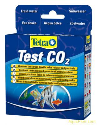 Тест для определения показателей качества воды Tetra test CO2 2*10 ml