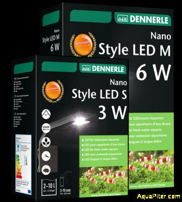 Светильник Dennerle Nano Style LED S для нано-аквариума, 3Вт