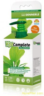 Удобрение комплексное Dennerle V30 Complete для всех аквариумных растений, 100мл