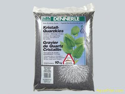 Грунт Dennerle Kristall-Quarz, цвет сланцево-серый, 10 кг
