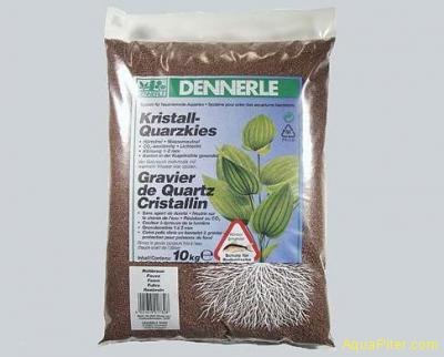 Аквариумный грунт Dennerle Kristall-Quarz, цвет светло-коричневый