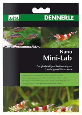 Минилаборатория Dennerle Nano MiniLab  5 показателей