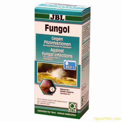 JBL Fungol - Лекарство против грибковых заболеваний и поражения грибком икры, 10