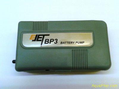 Компрессор E-JET BP-3 на батарейках