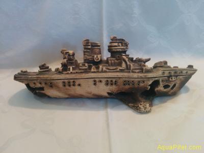 Декор Затонувший корабль