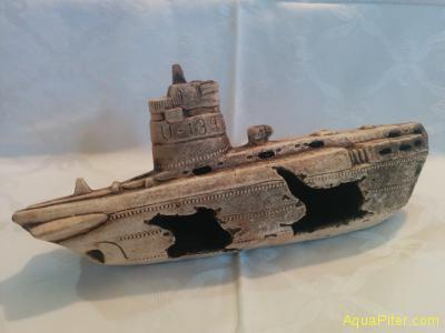 Декор Затонувшая подводная лодка