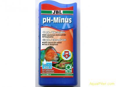 Препарат JBL pH-Minus для понижения значения рН с помощью дубового экстракта, 10