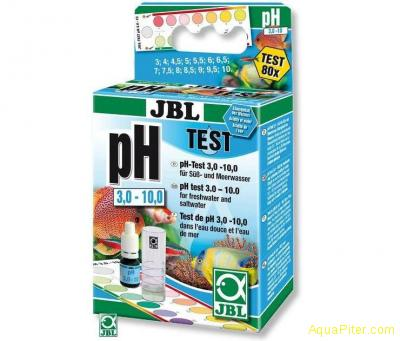 Тест JBL pH Test-Set 3.0 - 10.0