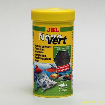 Корм JBL NovoVert со спирулиной и планктоном, 250мл (40г)