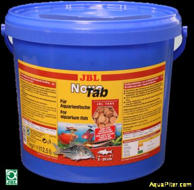 Корм JBL NovoTab в форме таблеток, 12.5л