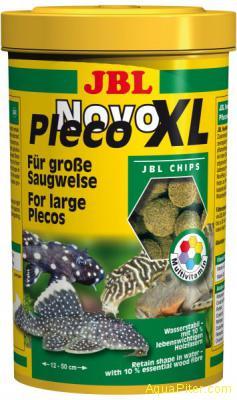 Корм JBL NovoPleco XL в виде водорослевых чипсов экстра-большого размера