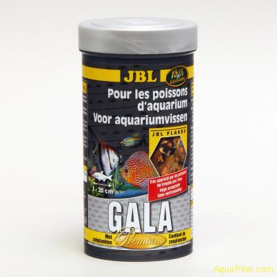 """Корм JBL Gala основной класса """"премиум"""" в форме хлопьев для профессионалов, 250м"""