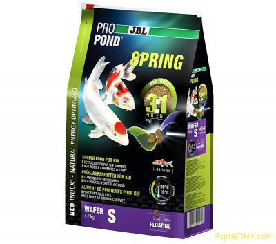 Корм основной весенний JBL ProPond Spring S для карпов кои небольшого размера, 4
