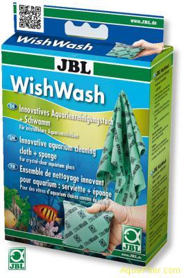 JBL WishWash(T) - Специальная губка и салфетка для эффективной очистки стекол те