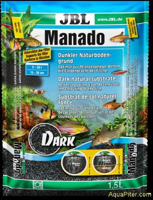 Грунт JBL Manado DARK, темный, 1.5л